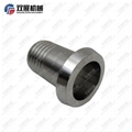 Sanitary Stainless Steel DIN11851 Liner to Rubber Hose Barb 2