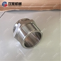 Stainless Steel Sanitary Male NPT to Tri Clamp Adapters (21MP) 3