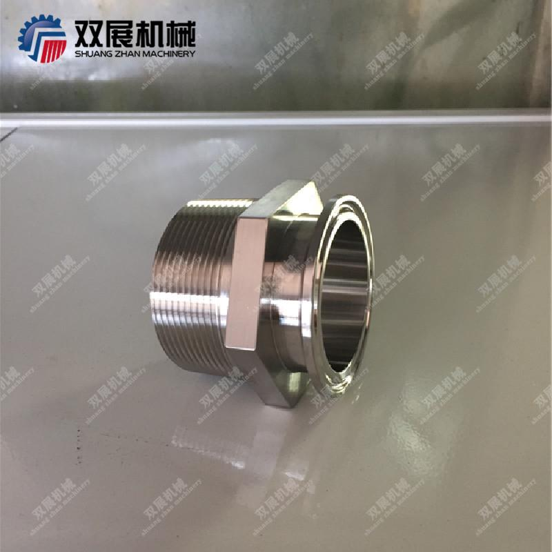 Stainless Steel Sanitary Male NPT to Tri Clamp Adapters (21MP) 4