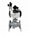 Double Acting Pneumatic Iron Flanged