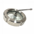 Sanitary Stainless Steel Tank Sight Glass Window with Wiper