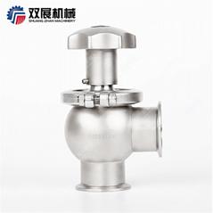 Sanitary Stainless Steel Manual Shutoff Valve
