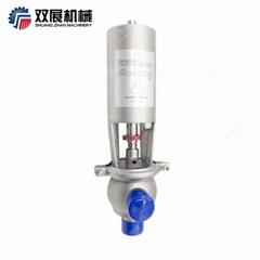 Sanitary Stainless Steel Pneumatic SUS316L Reversing Valve