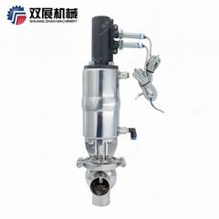 不锈钢卫生级气动换向阀截止阀带接近开关