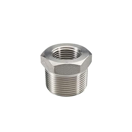 Stainless Steel Reducer Hex Bushing Male NPT to Female NPT Reducing  1
