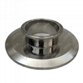 Sanitary Stainless Steel Tri Clover Compatible Cap Reducer