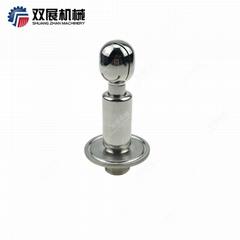 "SS304 Stainless Steel Rotating 1/2"" MNPT x 1.5"" Tri Clamp Micro CIP Spray Ball"