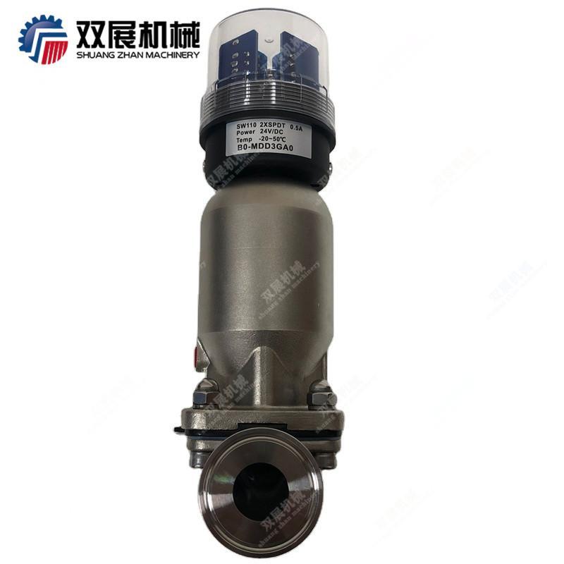 卫生级不锈钢气动隔膜阀 2