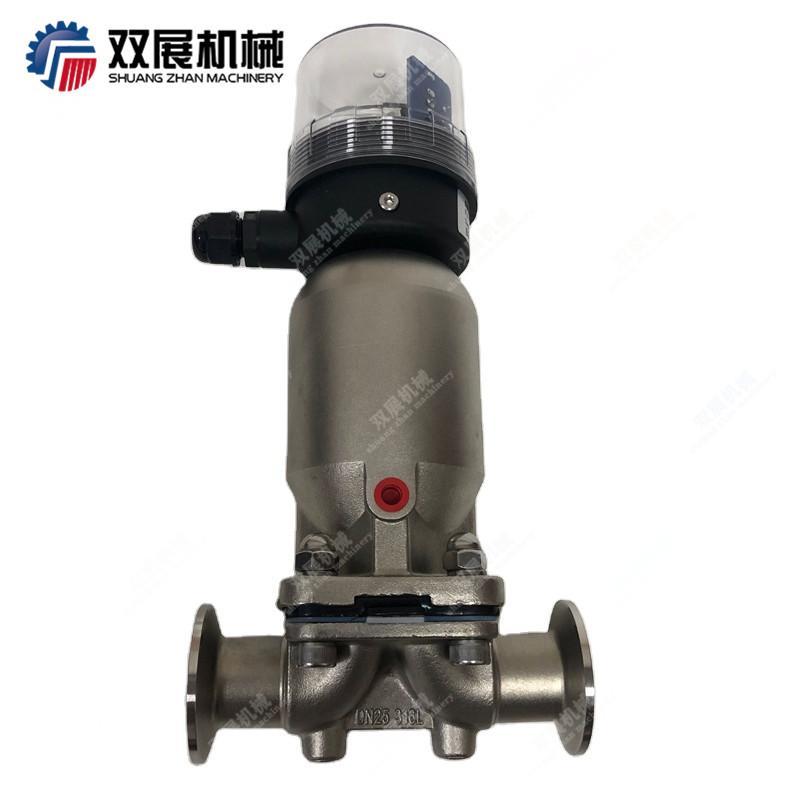 卫生级不锈钢气动隔膜阀 1