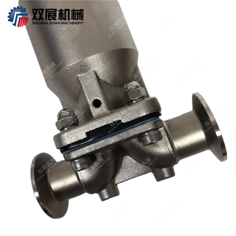 卫生级不锈钢气动隔膜阀 4