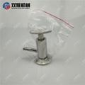 Sanitary SS304 Tri Clamp Sample Va  e PTFE Sealing 5