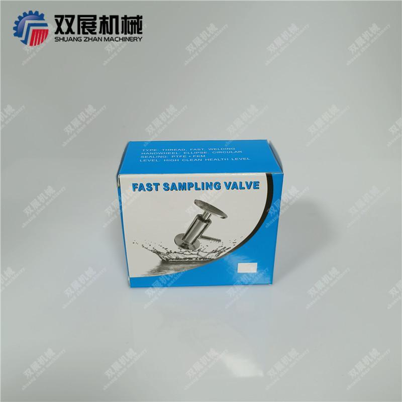 Sanitary SS304 Tri Clamp Sample Va  e PTFE Sealing 6