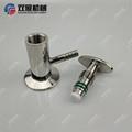 Sanitary SS304 Tri Clamp Sample Va  e PTFE Sealing 8
