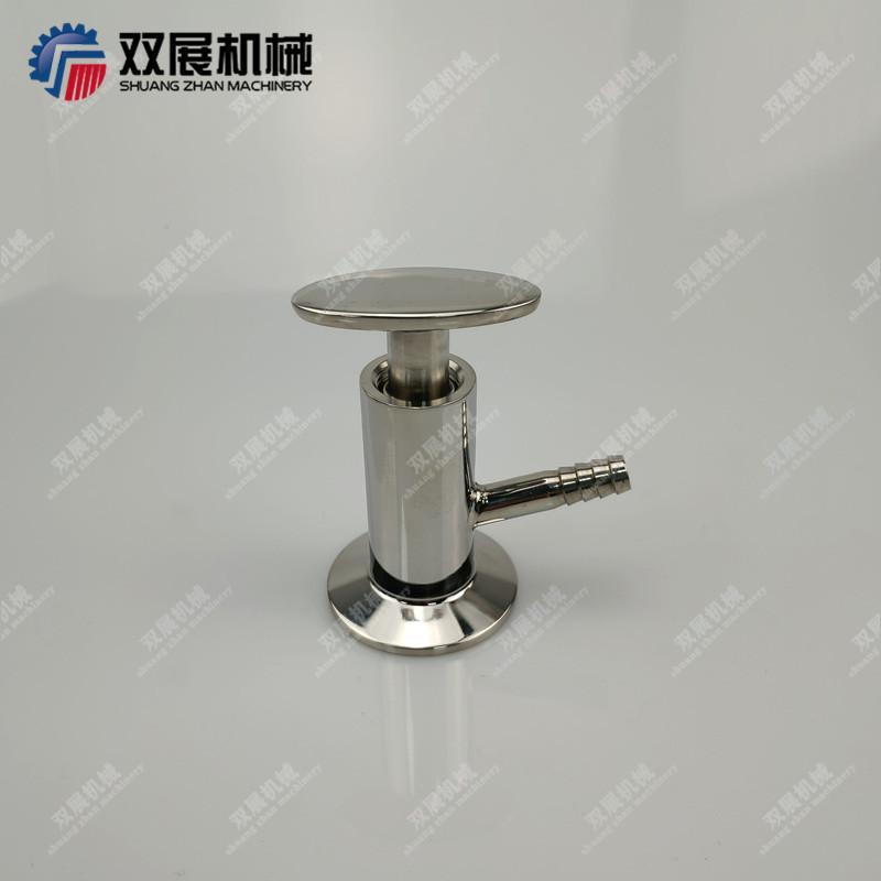 Sanitary SS304 Tri Clamp Sample Va  e PTFE Sealing 10