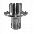 """Stainless Steel 1.5"""" Tri-Clamp 1/2"""""""