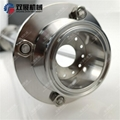"""2"""" Tri Clamp Sight Glass Tower 500mm Long Diopter Spool Pipe"""