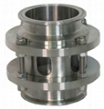 """Sanitary Tri-Clamp Sight Glass 4"""" and 3"""" Sight Tower."""