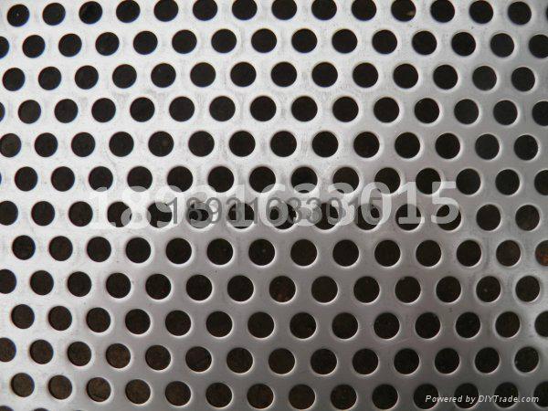 Round Hole Punching metal sheet 3
