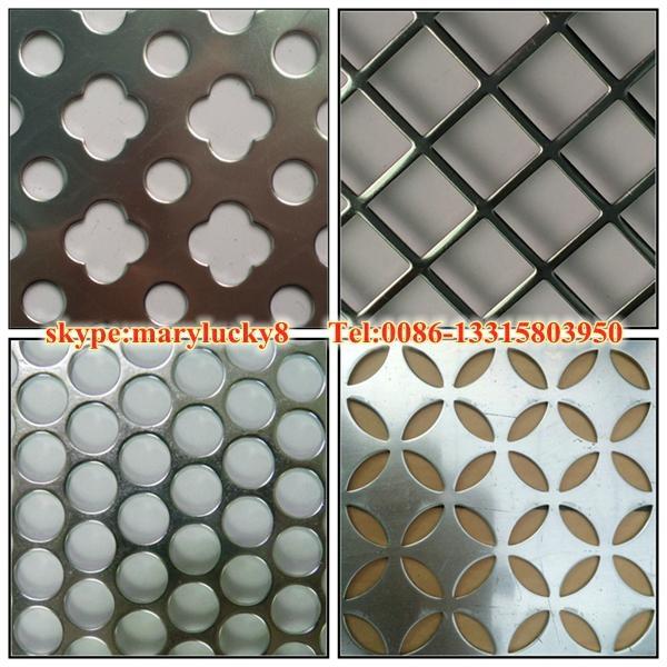 Round Hole Punching metal sheet