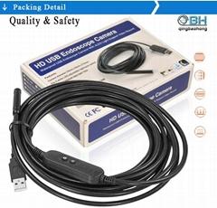 USB cable line borescope