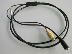 RCA Connector video bore