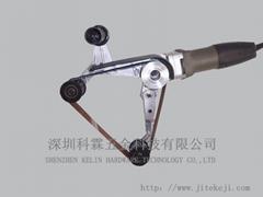 手提式圆管拉丝机