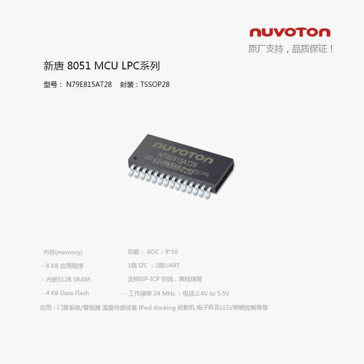 单片机 N79E815AS28/N79E815AT28 2