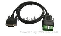 OBDII Male(12V) to DB15 CABLE