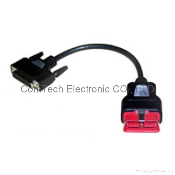 J1962M  OBDII  16PM  24V  to DB 25  Cable