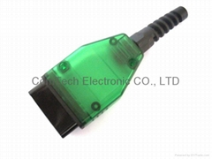 OBD-2  green transparency