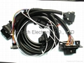 OBDII  M TO OBD F +DB9P Y CABLE