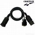 J1939 9P M + F  TO DB15 CABLE 2