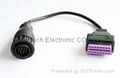 BENZ 14P TO OBD-16P  F