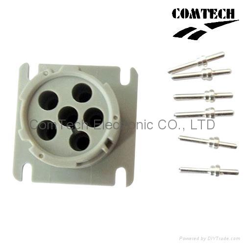 Deutsch J1708 6P F  CONNECTOR