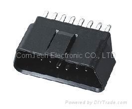 J1962 OBDII  16P M   eligulate Connector  4