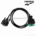 OBDII Male  12V to DB15 CABLE