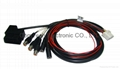 OBDII 16P M TO SA16P+AV CABLE