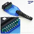 OBD-2 elongated  blue  Connector