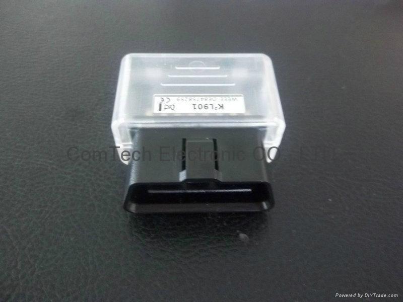 J1962 OBDII 16P M 90度装配式插头 5