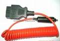 J1962 OBD-II 16P M  TO  Cigarette Lighter CABLE