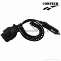 J1962 OBD-II 16P M  TO  Cigarette Lighter CABLE 2
