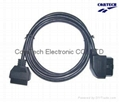 J1962 OBD-II 16P 90 Angle M TO F  CABLE