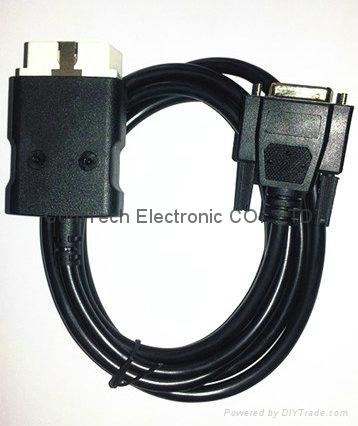 J1962 OBDII M to HDB26P F with LED Cable 2