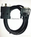 J1962 OBDII M to HDB26P F with LED Cable