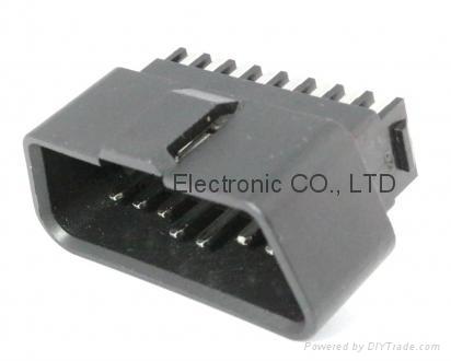J1962 OBDII  16P M   eligulate Connector  3