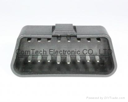 J1962 OBDII  16P M   eligulate Connector  1