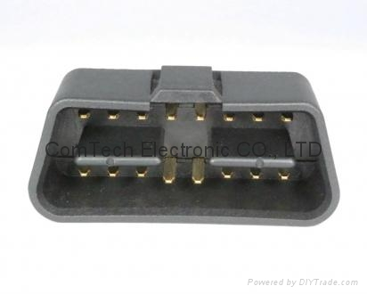 OBDII  16P M  B TYPE CONNECTOR 4