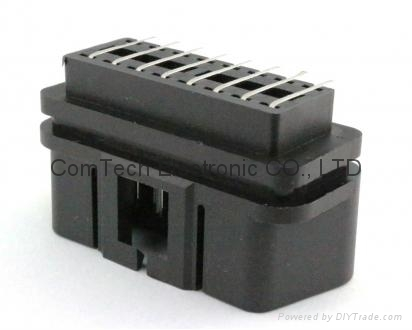 OBDII 16P M Right Angle CONNECTOR 1