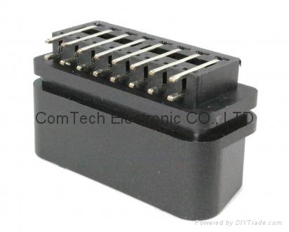 OBDII 16P M Right Angle CONNECTOR 4