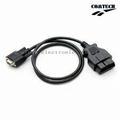 OBD-II  16P M TO DB9P F  Cable